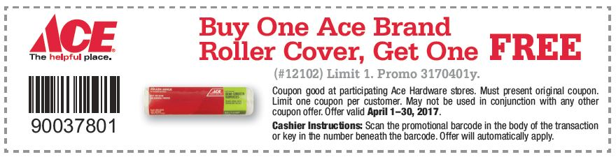 Free Paint Roller Coupon