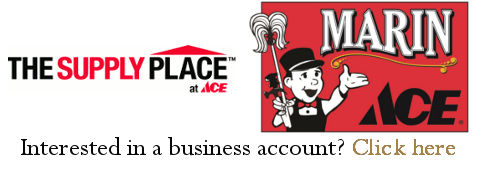 Marin Ace Business Accounts