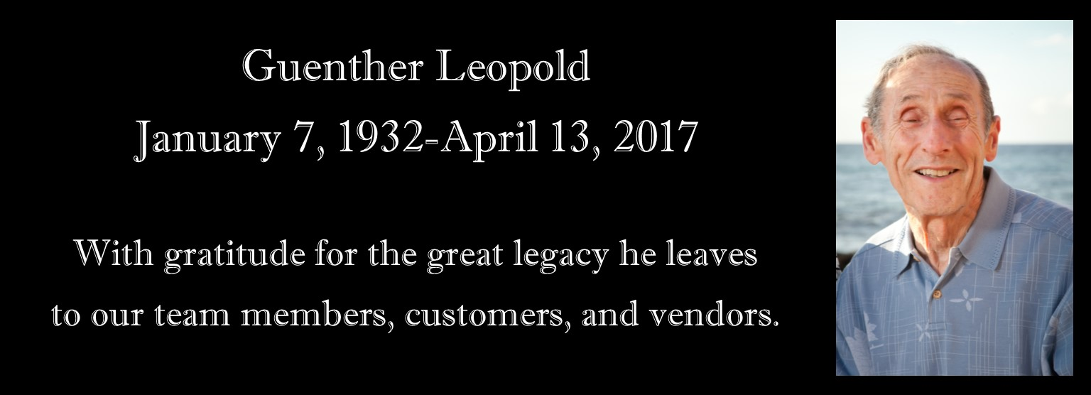 Rest in Peace Guenther Leopold