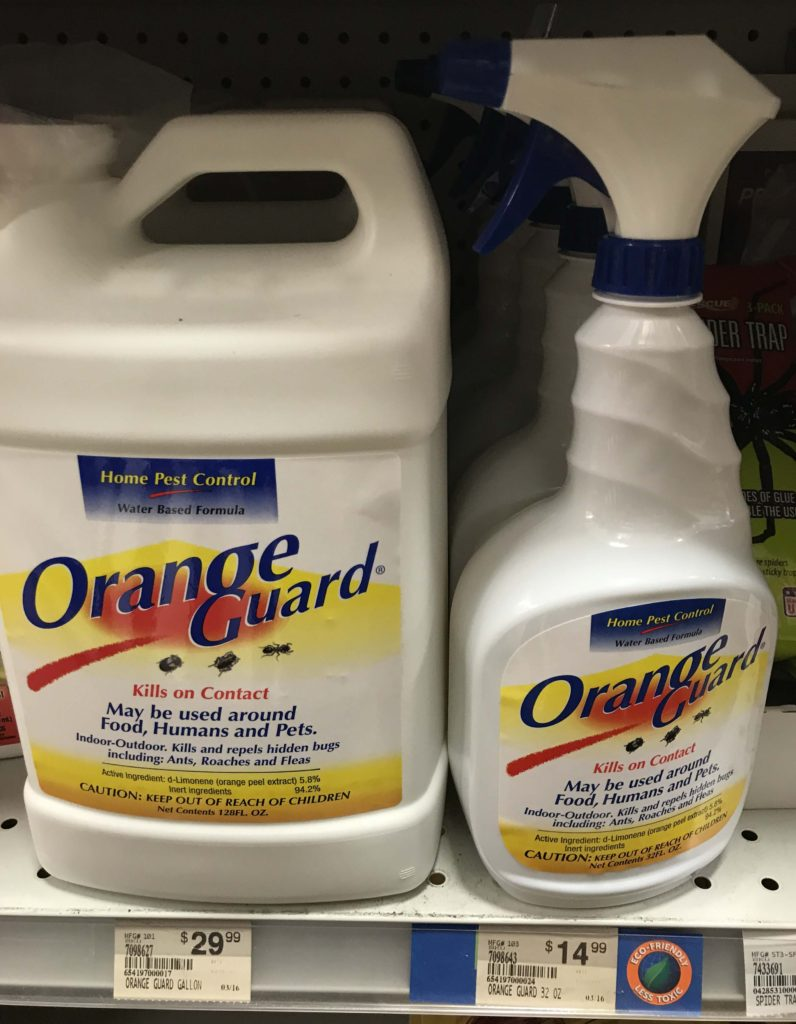 Orange Guard Boundary Insecticide