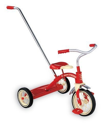 "Radio Flyer Classic Red Tricycle 10"" #34"