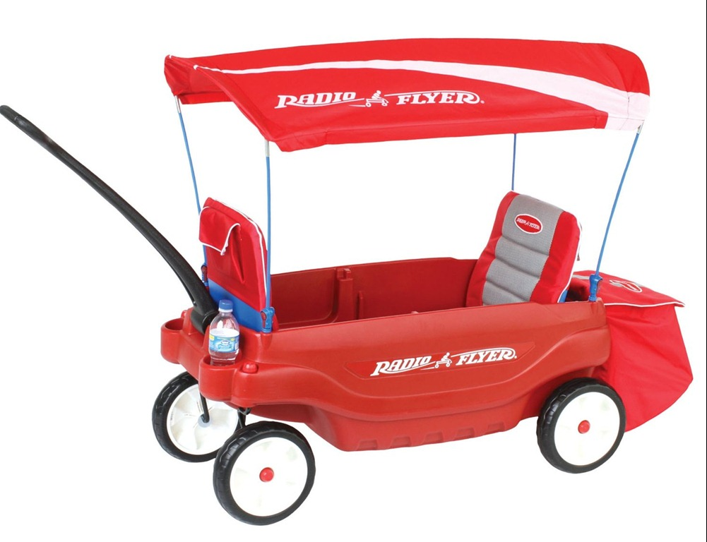 Radio Flyer Ultimate Comfort Wagon #3180