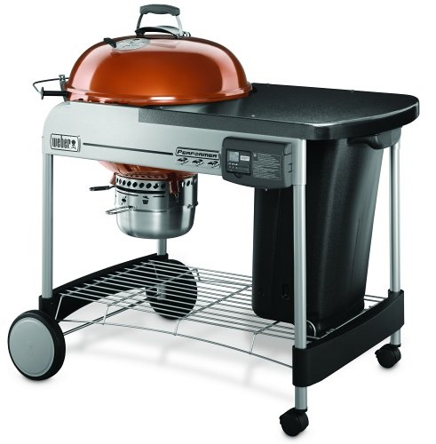 Weber Performer Deluxe Grill Copper