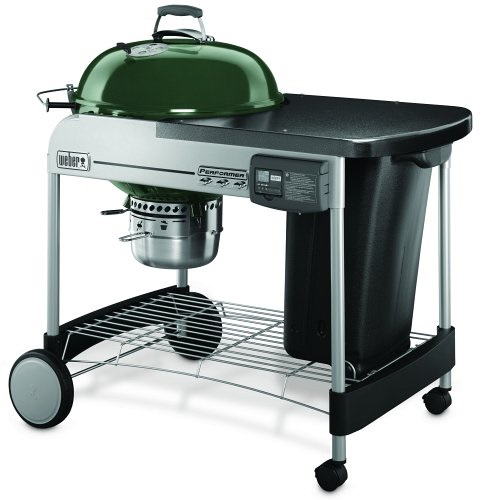 Weber Performer Deluxe Grill Green