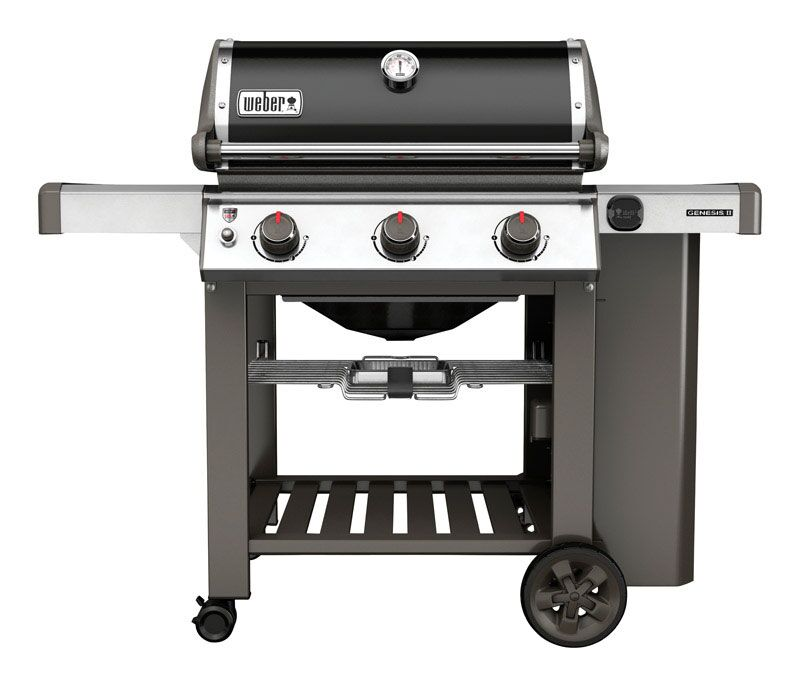 weber genesis ii e 310 black lp gas grill marin ace. Black Bedroom Furniture Sets. Home Design Ideas