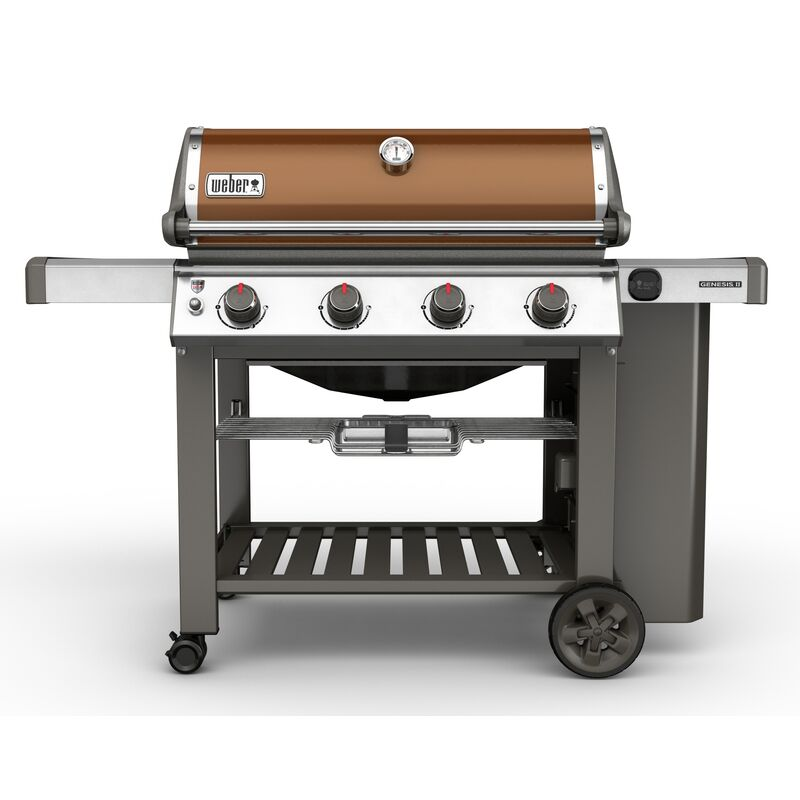 Weber Genesis II E-410 Copper LP Gas Grill