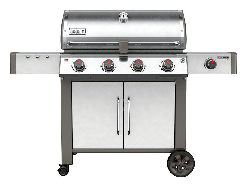 Weber Genesis II LX S-440 SS Natural Gas Grill