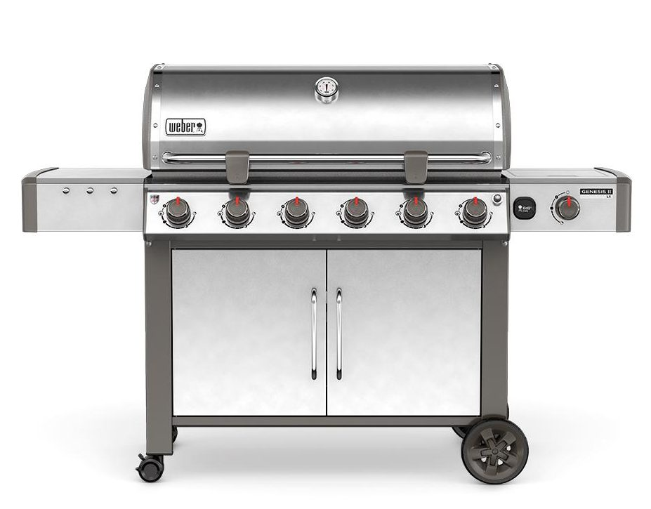 Weber Genesis II LX S-640 SS Natural Gas Grill