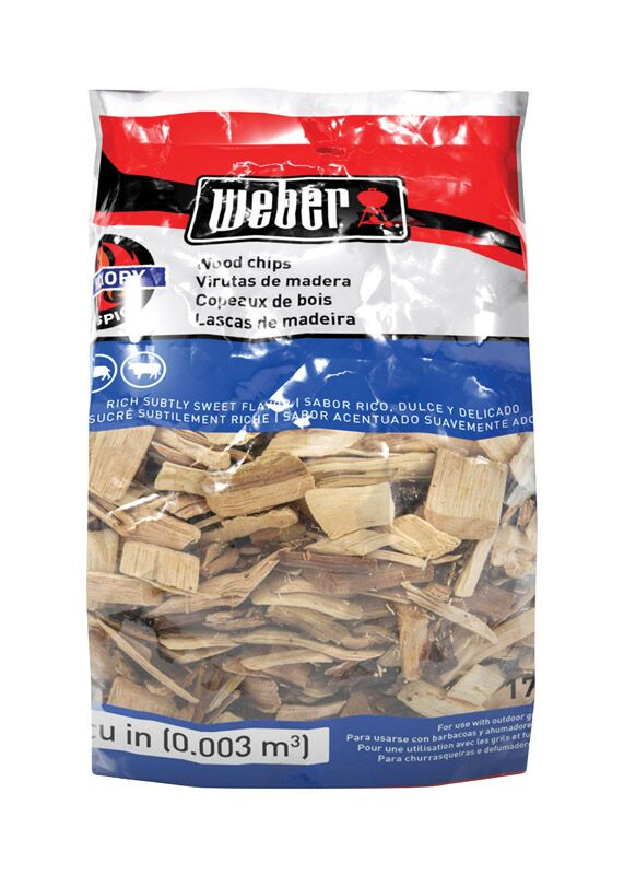 Weber Hickory Wood Chips 2lb Bag