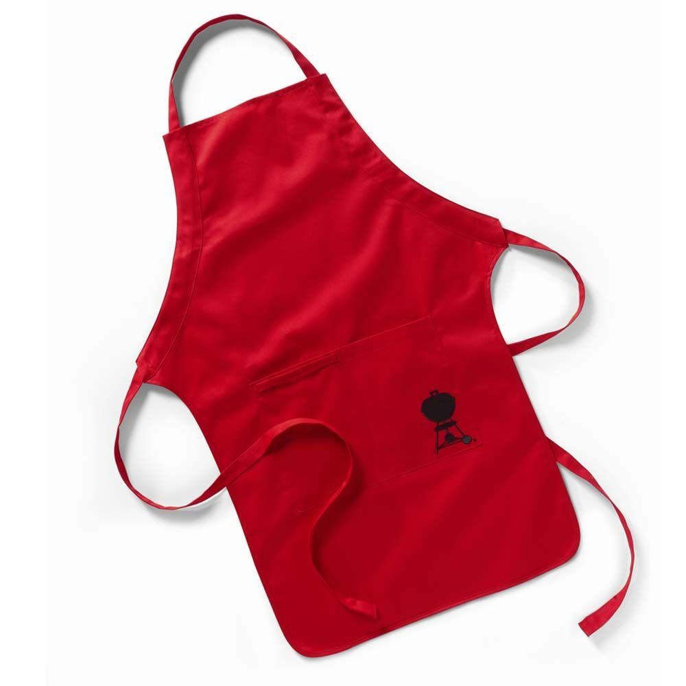 Weber Red BBQ Apron