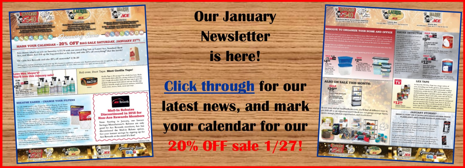 January 2018 3-store newsletter