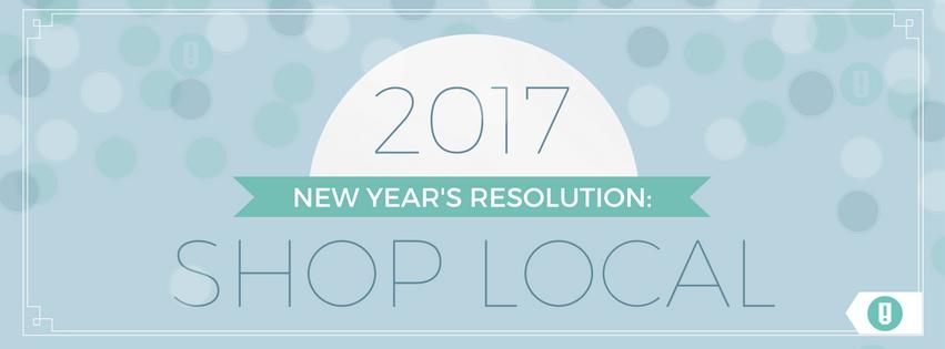 2017 Resolution - Shop Local