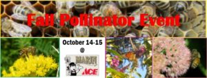 Fall Pollinator Event 10/14-15