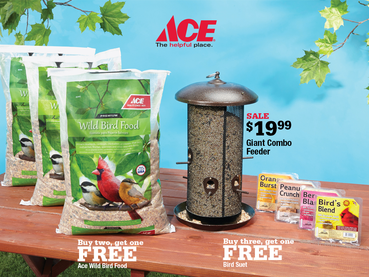 Marin Ace February Deals - Bird Feed