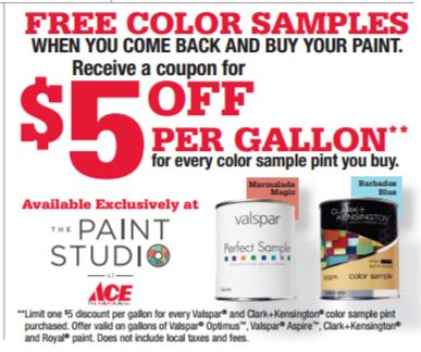 Free Color Samples at Marin Ace