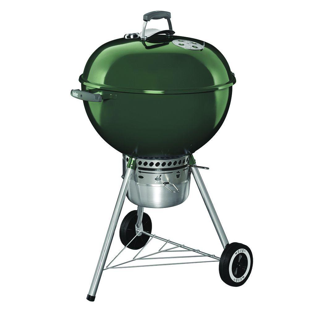 """Weber Original Premium Kettle Grill 22"""" Green"""
