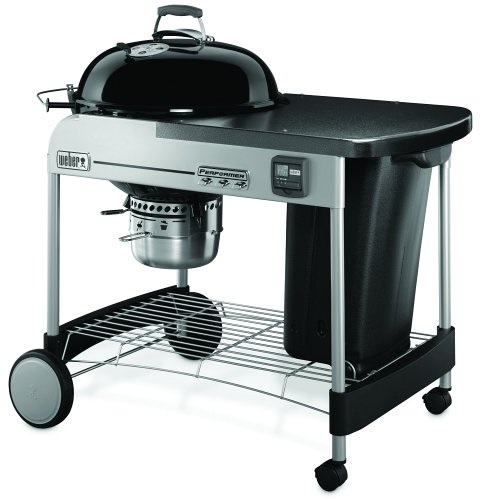 Weber Performer Premium Charcoal Grill Black