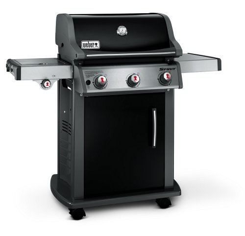 Weber Spirit E-320 LP Black