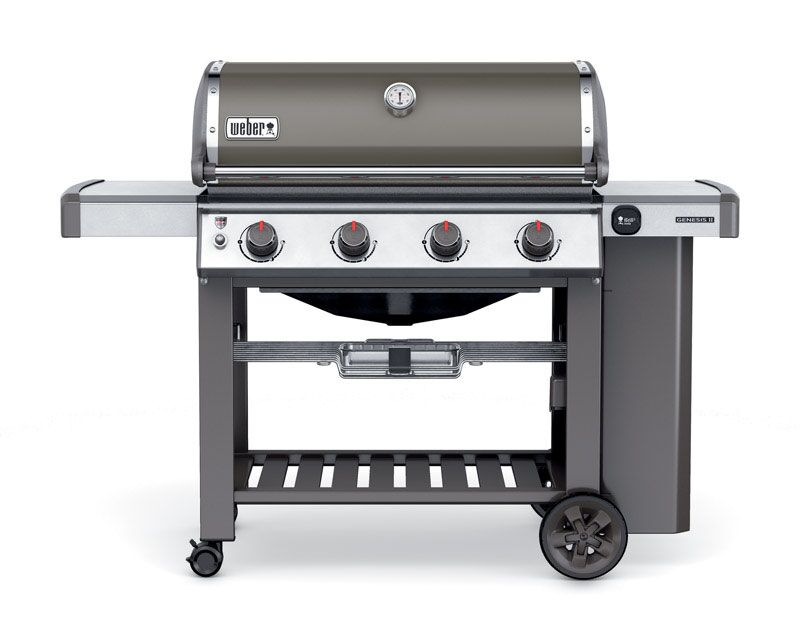 Weber Genesis II E-410 Smoke LP Gas Grill