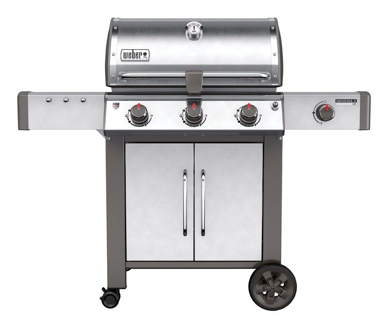 Weber Genesis II LX S-340 SS Natural Gas Grill