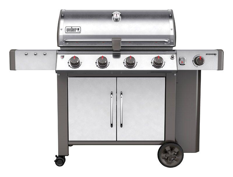 Weber Genesis II LX S-440 SS LP Gas Grill