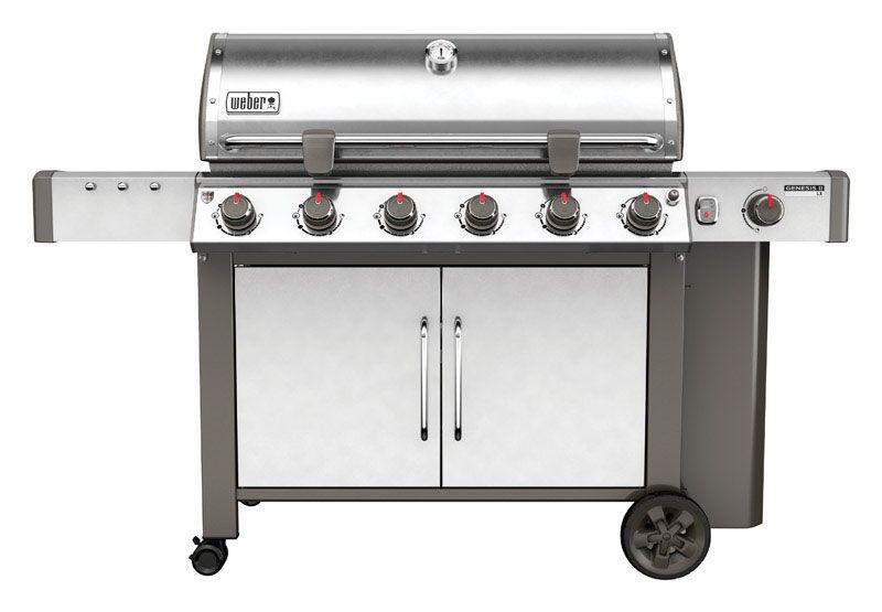 Weber Genesis II LX S-640 SS LP Gas Grill