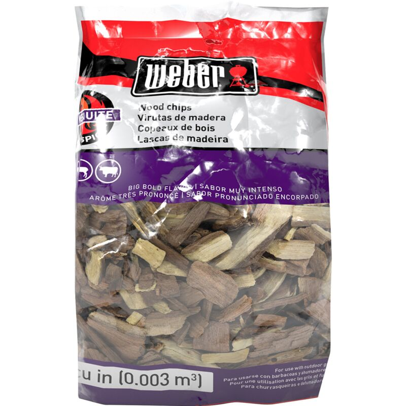 Weber Mesquite Wood Chips 2lb Bag