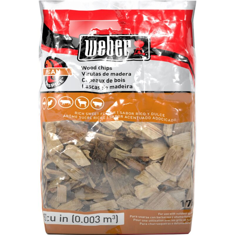 Weber Pecan Wood Chips 2lb Bag