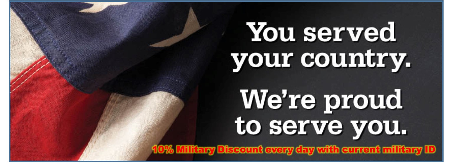 Year-Round Military Discount
