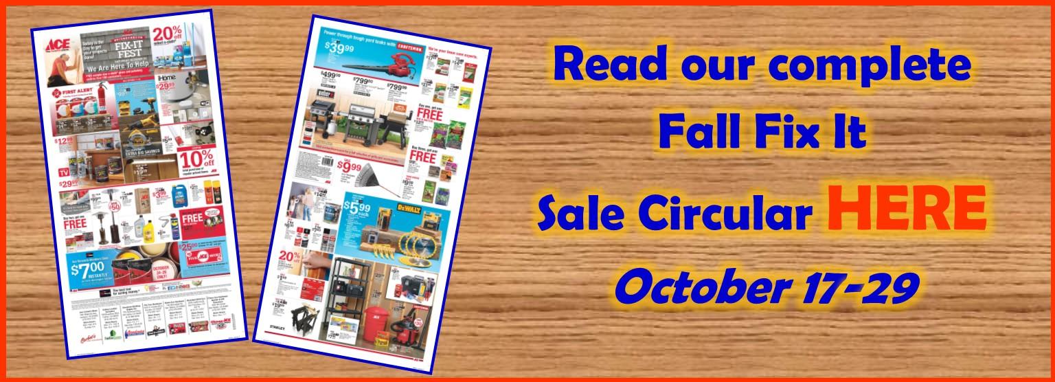 FixIt Fest Sale