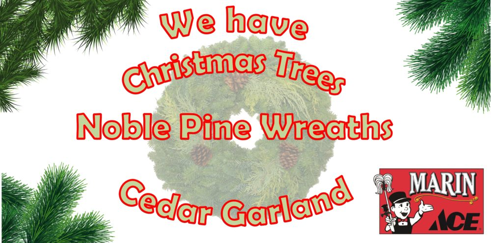 We have Trees Wreaths Garland