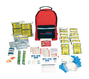 A prepacked emergency kit is a great way to start