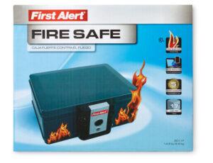 A fire resistant safe