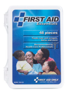 a pre-packed first aid kid