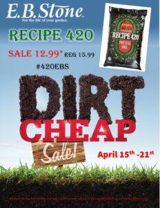 Recipe 420 Sale