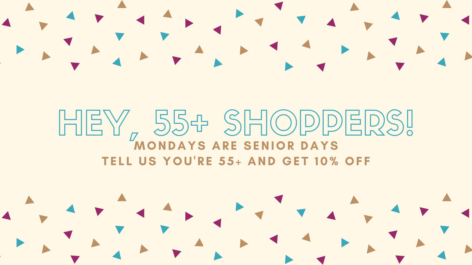 Senior Shoppers
